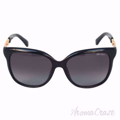 Picture of Jimmy Choo BELLA/S BMBHD - Shiny Black by Jimmy Choo for Women - 56-16-135 mm Sunglasses