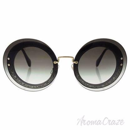 Miu Miu MU 10R UES-0A7 - Transparent Fabric Glitter Silver/G