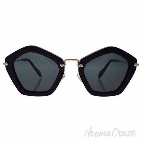 Picture of Miu Miu MU SMU 06O 1AB-1A1 - Black/Grey by Miu Miu for Women - 53-25-140 mm Sunglasses