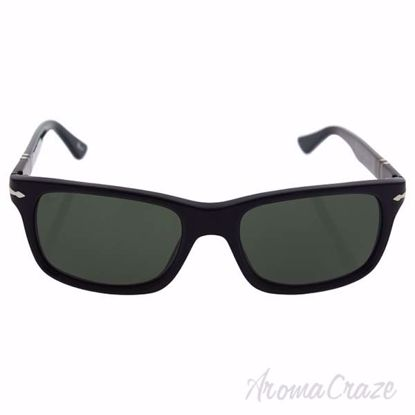 Persol PO3048S 95/31 - Black/Crystal Green by Persol for Men