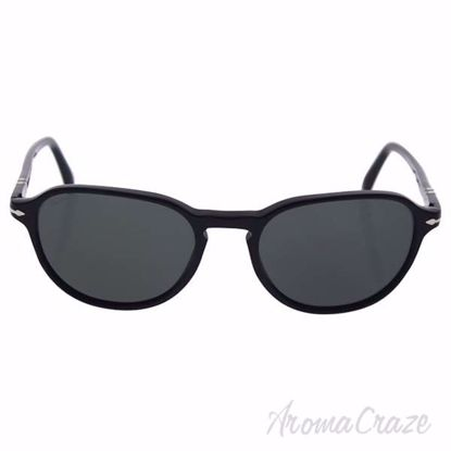 Persol PO3053S 9014/58 - Black/Green Polarized by Persol for