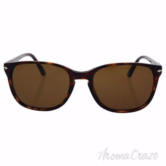 Picture of Persol PO3133S 9015/57 - Havana/Brown Polarized by Persol for Unisex - 52-18-145 mm Sunglasses