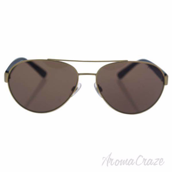 Picture of Polo Ralph Lauren PH 3098 9116/73 - Matte Brushed Pale Gold/Brown by Ralph Lauren for Men - 61-15-145 mm Sunglasses