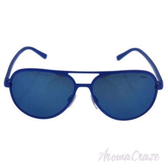 Picture of Polo Ralph Lauren PH 3102 9318/55 - Matte Royal Blue/Blue by Ralph Lauren for Men - 59-15-145 mm Sunglasses