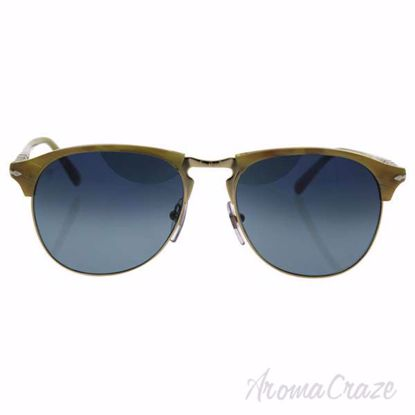 Persol PO8649S 1046/S3 - Light Horn/Blue Faded Polarized by