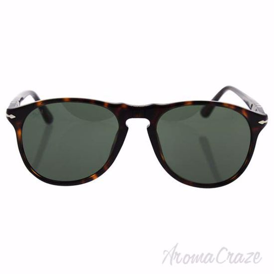 Picture of Persol PO9649S 24/31 - Havana/Grey by Persol for Men - 52-18-145 mm Sunglasses