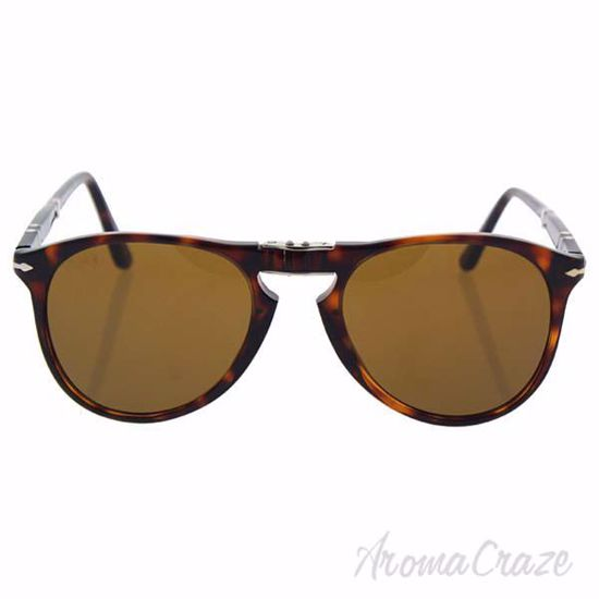 Picture of Persol PO9714S 24/33 - Havana/Brown by Persol for Men - 52-20-140 mm Sunglasses