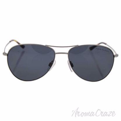 baf844f3346c Polo Ralph Lauren PH 3084 9046/81 - Matte Silver/Grey Polarized by Ralph  Lauren for Men - 58-15-145 mm Sunglasses