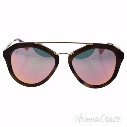 Picture of Prada SPR 12Q USG-5L2 - Striped Brown/Grey Yellow Rose by Prada for Women - 54-18-135 mm Sunglasses