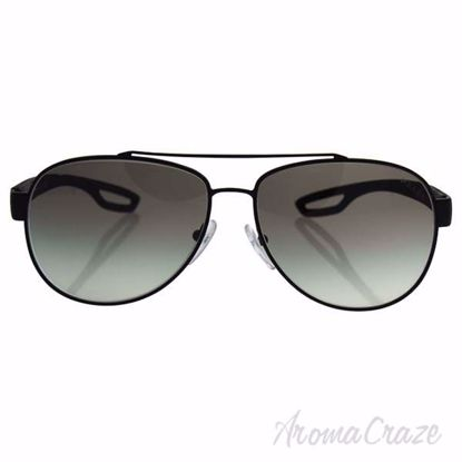 Picture of Prada SPS 55Q DG0-0A7 - Black Rubber/Grey Gradient by Prada for Men - 59-14-140 mm Sunglasses