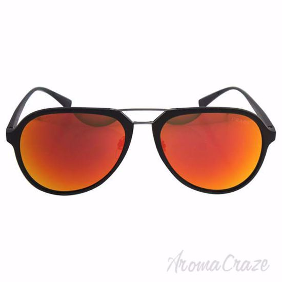 Picture of Prada SPS 05R UFI-5M0 - Green Rubber/Brown Orange by Prada for Men - 58-17-135 mm Sunglasses