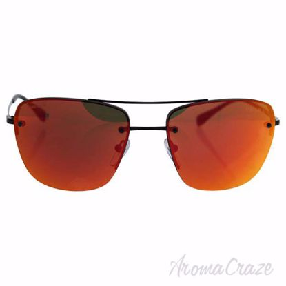 Picture of Prada SPS 52R 7AX-5L0 - Gunmetal/Brown Orange by Prada for Men - 56-16-135 mm Sunglasses