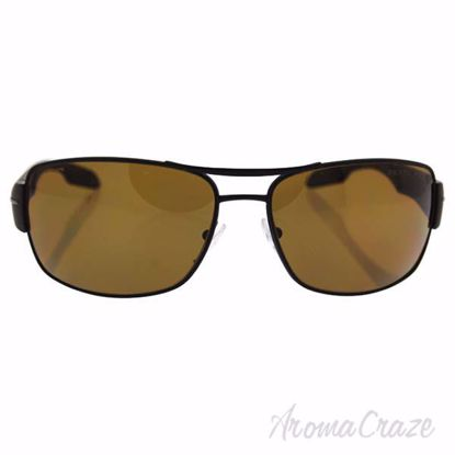 Picture of Prada SPS 53N UEA-5Y1 - Brown/Brown Polarized by Prada for Men - 65-16-130 mm Sunglasses