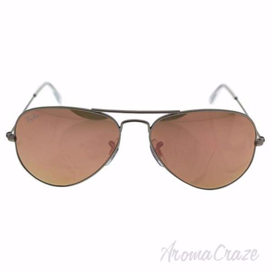 Picture of Ray Ban RB 3025 019/Z2 Aviator Large Metal - Silver/Copper Flash by Ray Ban for Unisex - 55-14-135 mm Sunglasses