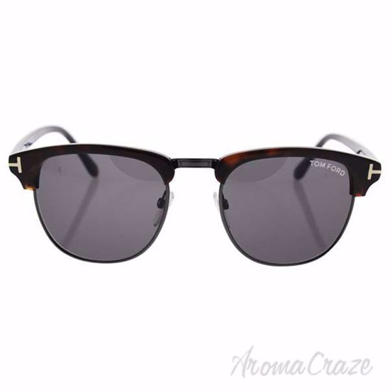 Picture of Tom Ford TF248 52A Henry - Dark Havana/Smoke by Tom Ford for Men - 51-20-145 mm Sunglasses