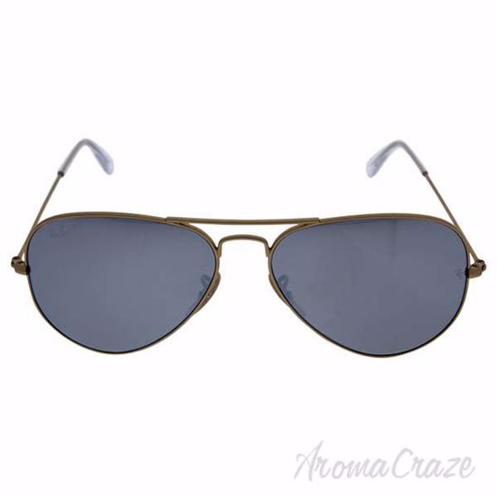 Picture of Ray Ban RB 3025 Aviator Large Metal 112/W3 - Gold/Silver Flash Polarized by Ray Ban for Men - 58-14-135 mm Sunglasses