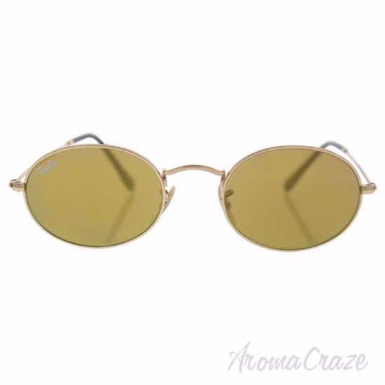 Picture of Ray Ban RB 3547-N 001/93 - Gold/Yellow by Ray Ban for Unisex - 51-21-145 mm Sunglasses