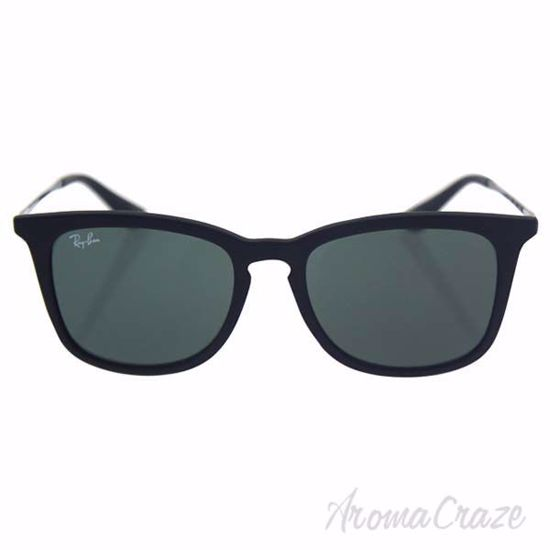 Picture of Ray Ban RJ 9063S 7005/71 - Black/Green Classic by Ray Ban for Kids - 48-16-130 mm Sunglasses