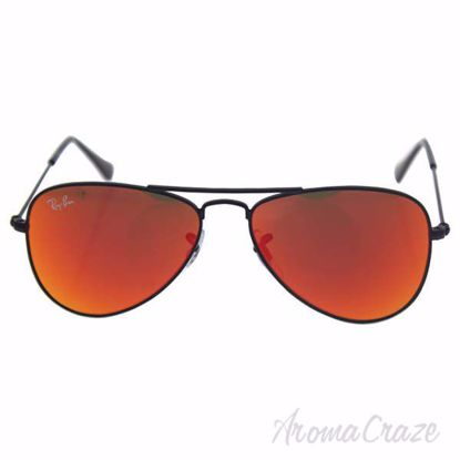 Ray Ban RJ 9506S 201/6Q - Black/Red by Ray Ban for Kids - 50