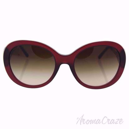 Burberry BE 4191 3014/13 Bordeaux/Brown Gradient Sunglasses for Women on SunglassCraze.com. 57-21-135 mm Sunglasses.
