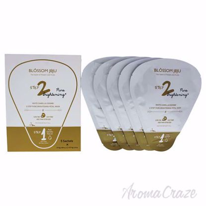 White Camellia Soombi 2 Step Pure Brightening Petal Mask by
