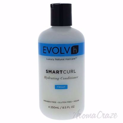 SmartCurl Hydrating Conditioner by Evolvh for Unisex - 8.5 o