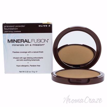 Pressed Powder Foundation - 02 Olive by Mineral Fusion for W