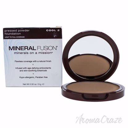 Pressed Powder Foundation - 02 Cool by Mineral Fusion for Wo