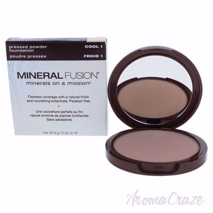 Pressed Powder Foundation - 01 Cool by Mineral Fusion for Wo