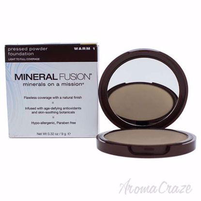 Pressed Powder Foundation - 01 Warm by Mineral Fusion for Wo
