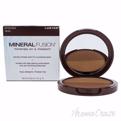 Bronzer Duo - Luster by Mineral Fusion for Women - 0.29 oz B