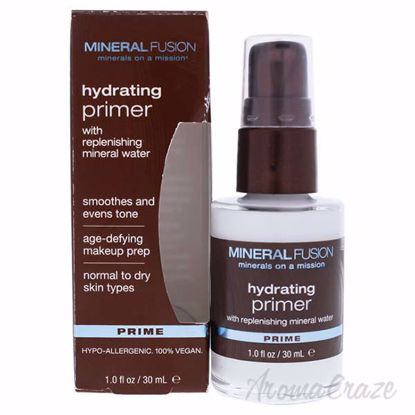 Hydrating Primer by Mineral Fusion for Women - 1 oz Primer