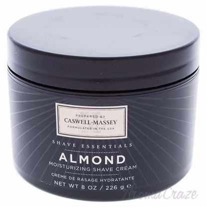 Picture of Almond Moisturizing Shave Cream by Caswell-Massey for Men - 8 oz Shave Cream