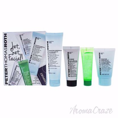 Jet Set Facial by Peter Thomas Roth for Unisex - 4 Pc Kit