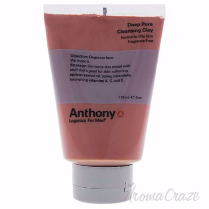 Deep Pore Cleansing Clay by Anthony for Men - 4 oz Mask