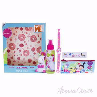 Fluffy by MPF for Kids - 4 Pc Gift Set 3.4oz Body Spray, Clu