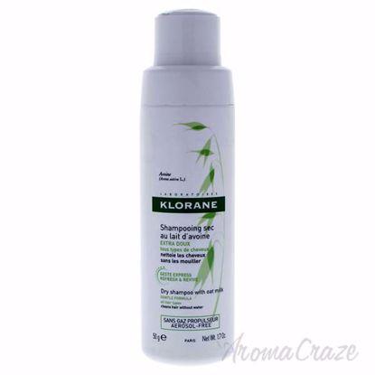 Dry Shampoo with Oat Milk by Klorane for Unisex - 1.7 oz Dry