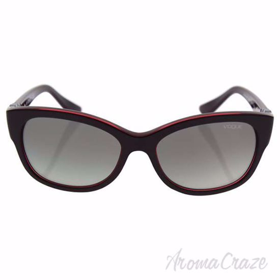 Picture of Vogue VO5034SB 2377/11 - Top Dark Red/Opal Red/Grey Gradient by Vogue for Women - 56-17-135 mm Sunglasses
