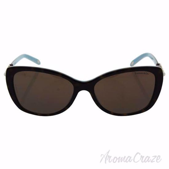 Picture of Tiffany TF 4103-HB 8134/3G - Havana-Blue/Brown by Tiffany & Co. for Women - 56-16-140 mm Sunglasses