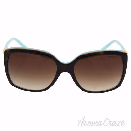 Picture of Tiffany TF 4076 8134/3B - Top Havana-Blue/Brown Gradient by Tiffany & Co. for Women - 58-17-135 mm Sunglasses