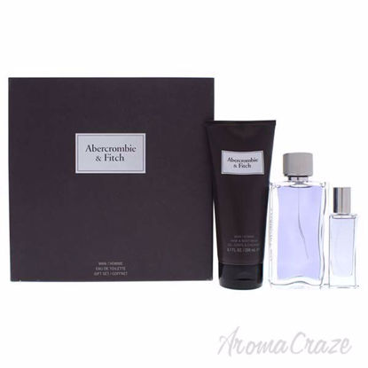 First Instinct by Abercrombie and Fitch for Men - 3 Pc Gift