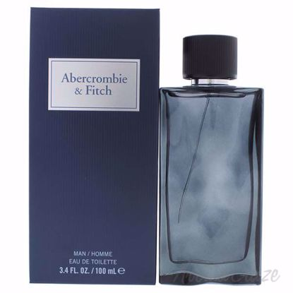 First Instinct Blue by Abercrombie and Fitch for Men - 3.4 o