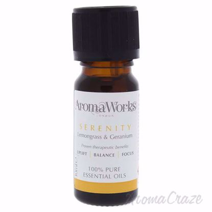 Serenity Essential Oil by Aromaworks for Unisex - 10 ml Body