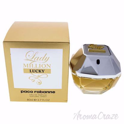 Picture of Lady Million Lucky by Paco Rabanne for Women - 2.7 oz EDP Spray