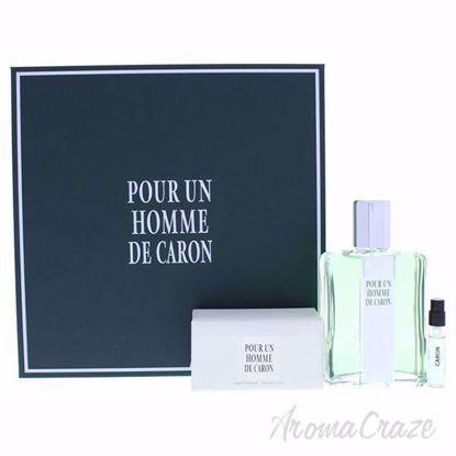 Pour Un Homme De Caron by Caron for Men - 3 Pc Gift Set 4.2o