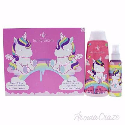 Eau My Unicorn by Eau My Unicorn for Kids - 2 Pc Gift Set 3.