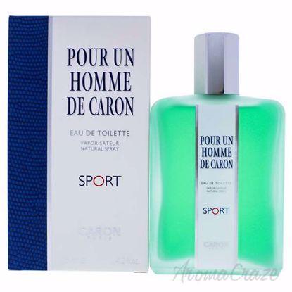 Pour Un Homme Sport by Caron for Men - 4.2 oz EDT Spray