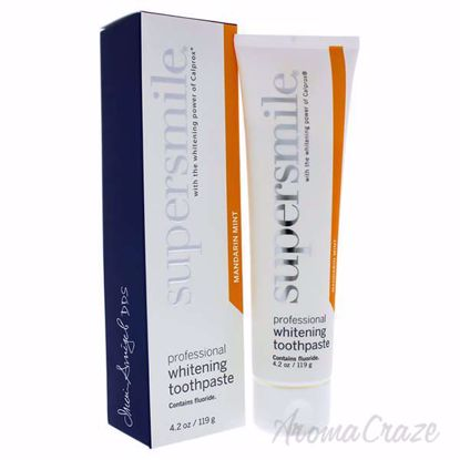 Picture of Professional Whitening Toothpaste - Mandarin Mint by Supersmile for Unisex - 4.2 oz Toothpaste