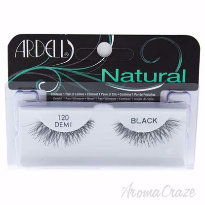 Picture of Natural Lashes - 120 Demi Black by Ardell for Women - 1 Pair Eyelashes
