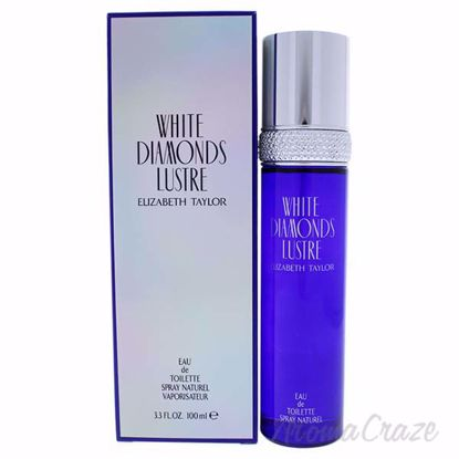 White Diamonds Lustre by Elizabeth Taylor for Women - 3.3 oz